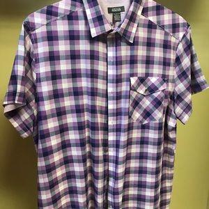 Reaction button down shirt